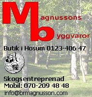 Magnussons Byggvaror
